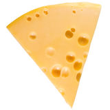 Cheese isolated Royalty Free Stock Photography