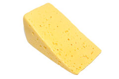Cheese isolated Royalty Free Stock Images