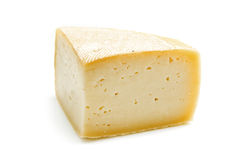 Cheese isolated Stock Image