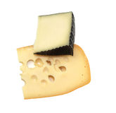 Cheese isolated on white background Royalty Free Stock Image