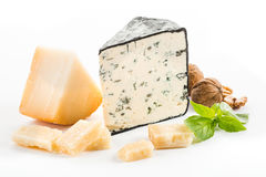 Cheese isolated Royalty Free Stock Photos
