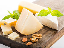 Cheese isolated Stock Images