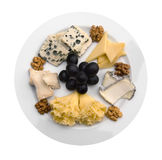 Cheese and jamon Stock Image