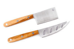 Cheese knife set Royalty Free Stock Photos