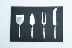 Cheese Knife Set Royalty Free Stock Photography