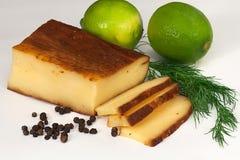 Cheese and lemone Stock Photos