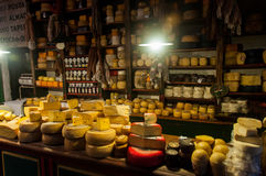 Cheese lovers won't be disappointed in Tandil, Argentina.  Royalty Free Stock Images