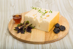 Cheese maasdam Royalty Free Stock Photography