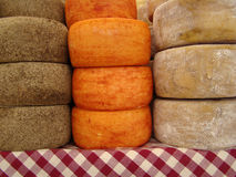 Cheese on market Royalty Free Stock Photography