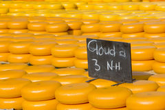 Cheese market Stock Images