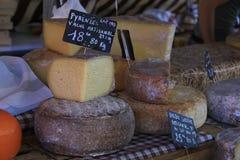Cheese at a market Royalty Free Stock Photo
