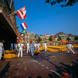 Cheese Market, Alkmaar Royalty Free Stock Photos