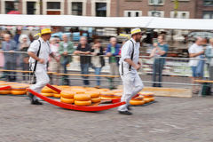 Cheese Market Alkmaar Royalty Free Stock Image