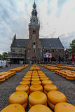 Cheese Market Alkmaar Royalty Free Stock Photos