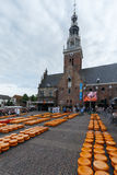 Cheese Market Alkmaar Royalty Free Stock Photography