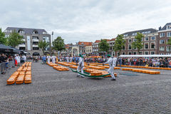 Cheese Market Alkmaar Stock Photography