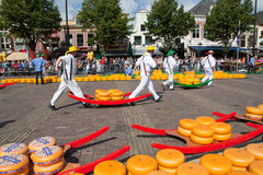Cheese Market - Holland Stock Photo
