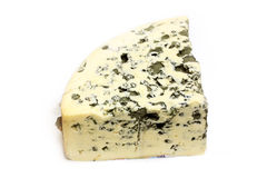 Cheese with mildew Stock Image