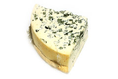 Cheese with mildew Stock Images