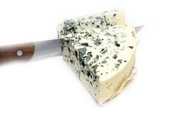 Cheese with mildew Royalty Free Stock Images