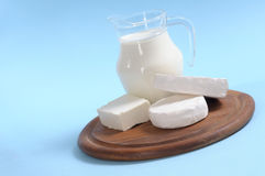 Cheese and milk stock photography