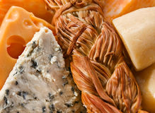 Cheese mix Stock Photography