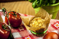 Cheese muffin Royalty Free Stock Photo