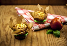 Cheese muffins Royalty Free Stock Photo