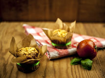 Cheese muffins Royalty Free Stock Photography