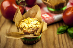 Cheese muffins Stock Photography