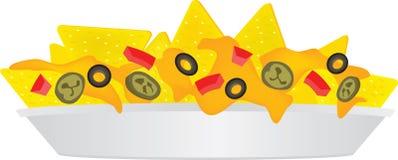 Cheese nachos  Royalty Free Stock Image