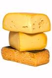Cheese named Gouda. Stock Photos