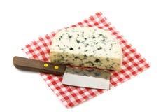 Cheese on napkin Royalty Free Stock Photos