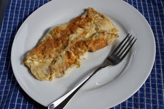 A cheese omelette Stock Photos