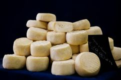 Free Cheese On A Market Stall Royalty Free Stock Photography - 100348677