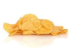 Cheese and Onion Crisps Stock Photo