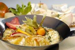 Cheese pan Stock Photos