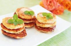 Cheese pancake Royalty Free Stock Photography