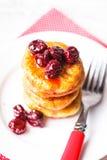 Cheese pancakes Stock Image