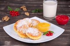 Cheese pancakes Royalty Free Stock Photo