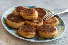 Cheese pancakes Royalty Free Stock Image