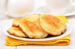 Cheese pancakes Royalty Free Stock Photos