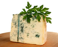 Cheese and parsley Royalty Free Stock Image