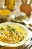 Cheese pasta Royalty Free Stock Image
