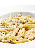 Cheese Penne Pasta Stock Photo