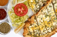 Cheese pide Stock Photo