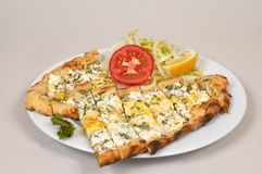 Cheese pide Royalty Free Stock Photos