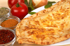 Cheese pide Royalty Free Stock Photography