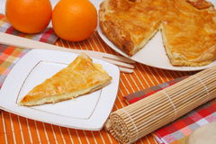 Cheese pie Royalty Free Stock Photos