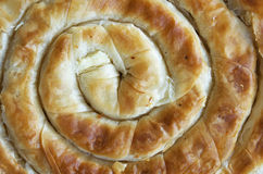 Cheese pie closeup Stock Photography